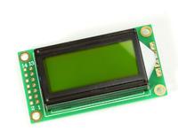 0802 802 8x2 Zeichen LCD Display Modul HD44780 gelb für Arduino Raspberry Pi