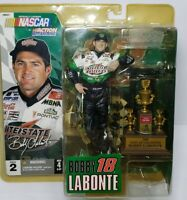 NASCAR 2004 Bobby Labonte McFarlane Series 2 Action Figure & Trophy