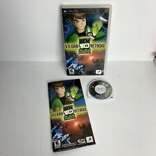 Ben 10 Alien Force: Vilgax Attacks Sony PSP With Manual - Free Postage