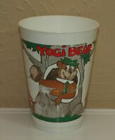 Vintage 7 Eleven Hanna Barbera YOGI BEAR Ranger Smith Plastic SLURPEE Cup