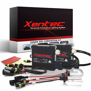 Xentec Xenon Light HID Kit 30000LM 35W Slim H1 H4 H7 H10 H11 H13 9004 9006 9007