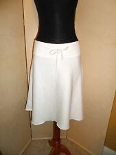 NWOT Ralph Lauren A-Line White Fleece Terry Skirt Size L Large