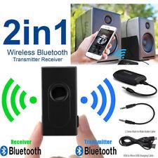 2in1 Bluetooth V4 Stereo Audio Transmitter For TV PC MP3 MP4 Speaker Headphone
