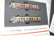 Berliner S-bahn Br480 DB H0 Gleichstrom analog Hobbytrain 305100