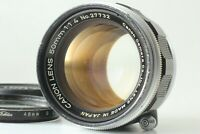 [EXC] Canon 50mm F/1.4 MF LTM Standard Lens Leica Screw Mount From Japan #217
