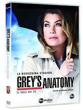 Grey's Anatomy - Serie TV - 12^ Stagione - Cofanetto Con 6 Dvd - Nuovo Sigillato