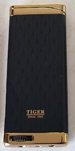 Tiger windproof  lighter gas refillable new style slimline fast shipping.