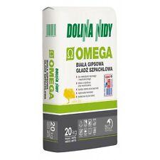 Gypsum Finish Plaster White 20 KG Omega Dolina Nidy