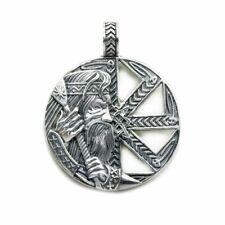 Colovrat of Veles • Pendant and Necklace • Slavic Ornament • Sterling Silver 925