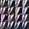 Men's High Grade 8CM Paisley Striped Tie Handkerchief Necktie Pocket Square Set