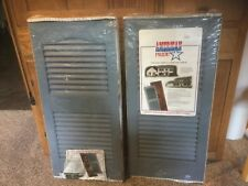 New American Pride Outdoor Vinyl House Shutters.  Set of 2. BLUE. 15 x 31