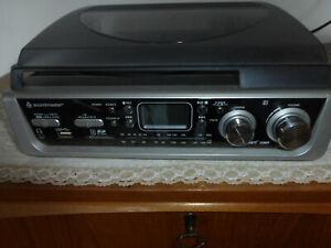 Plattenspieler USB Radio Soundmaster SD