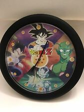 Funmation 1999 Talking Dragonball Z Wall Clock with 12 phrases