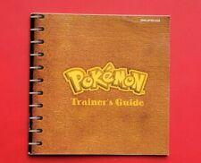 Pokemon Yellow Trainer's Guide Instruction Manual Nintendo Game Boy
