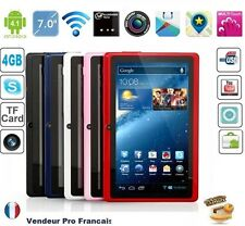 """Tablette PC Tactile 7"""" Android Capacitif Caméra WIFI HD  USB 4GB Bleu"""