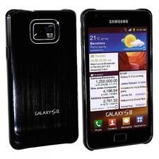 Luxus Cover Schale Samsung i9100 Galaxy S2 SII Hülle Aluminium Etui Oberschale