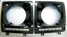 Mercedes W463 G Wagen Headlamp LED DLR Surrounds Covers Daytime running lamp kit