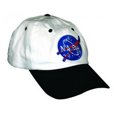 WHITE ASTRONAUT NASA CAP kids space hat boys girls child halloween costume