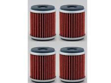 4 Pack Oil Filter Yamaha YFZ450 YZ450F WR450F YZ250F WR250F YZ Motorcycle/MX
