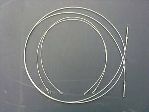 Ford escort Mk 3/4 Hood Tension Cable Set