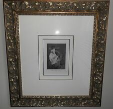 "FRANCISCO GOYA ""ESTO SI QUE ES LEER"" ETCHING BURNISHED AQUATINT  FRAMED & MATTED"