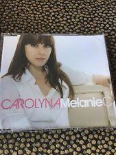 MELANIE C - CAROLYNA 3 TRACK  REMIX  PROMO CD SINGLE -VIDISCO