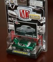 M2 Machines Auto-Thentics 1954 Chevrolet Bel Air Green NEW 1:64