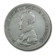 German States  Prussia Wilhelm III Thaler 1819A KM-396 Very Fine