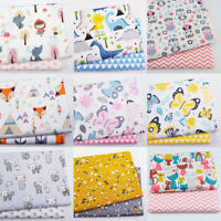 Child Patchwork Fabric Twill Printed Quilting Handmade DIY For Sewing New