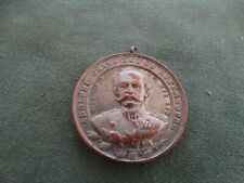 ancienne médaille -luxembourg -adolphe grand duc de luxembourg
