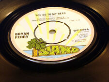 BRYAN FERRY - You Go To My Head / Re-Make Re-Model - 1975 VG++ UK Pressing