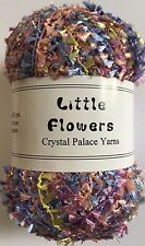"Crystal Palace Yarns Little Flowers #8128 ""Tutti Frutti"" Metallic Mini Flag Yarn"
