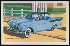 Simca Vedette Beaulieu France Automobile car original old 1950s Tobler postcard