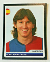 Lionel Messi Sticker Champions League 2006 - 2007 selten CL Rare Panini Mint