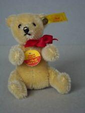Steiff Bär Art.Nr. 030222: ORIGINAL Teddybär, blond, 12 cm, 1991-2002, neu.