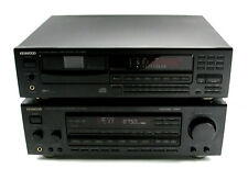 Kenwood KR-V8050 Audio Video Stereo Receiver & DP-M6650 Multiple CD Player NICE!