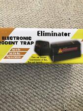 Eliminator Electronic Rodent/Mouse Trap -Kills Mice, Rats -Model Elm-Rtz-01 -New