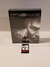 LawBreakers Collector's Edition Sony PS4 Limited Run New Sealed 2,500 copies