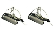 2 Pack Pest Stop Tunnel Barrel Type Mole Trap Galvanised Steel Rodent Quick Kill