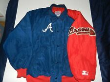 Majestic Atlanta Braves Starter Diamond Collection Embroidered Jacket (L) USA
