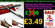 NAIL MAGIC WAND *C CURVE* PINCHING TOOL Multi Function Tool  Acrylic Nails