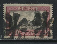 Danzig 1924  2 guilder used
