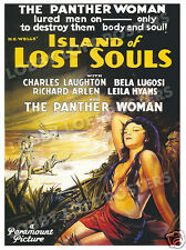 ISLAND OF LOST SOULS LOBBY CARD POSTER OS 1932 aka THE ISLAND OF DR. MOREAU