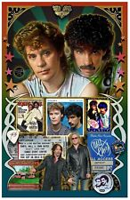 "Hall & Oates FAN Tribute poster - 11x17"" - Vivid Colors!"