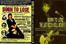 Johnny Thunders - Born to Lose - The Last Rock N Roll Movie Dvd
