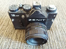 CAMERA ZENIT 12XP 12 XP RUSSIA PURCHASED IN SLR + Lens Helios - 44M-4 2/58