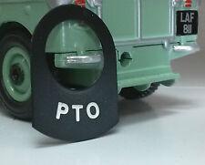 Land Rover Serie 1 2 2a 2b 3 Metal interruptor Etiqueta Etiqueta Label Insignia Pto advertencia
