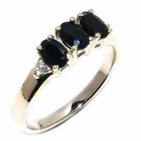 Amazing Black Onyx Cz Gemstone Handmade Jewelry 925 Sterling Silver Ring Size 9