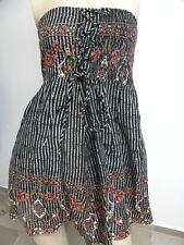 O'Neill Women's Grayson Black Strapless Dress Small