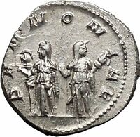 TRAJAN DECIUS 250AD Silver Ancient Roman Coin Pannonia Roman province  i49823